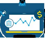 Ícones funcionamento - Fecha negócios e vende mais